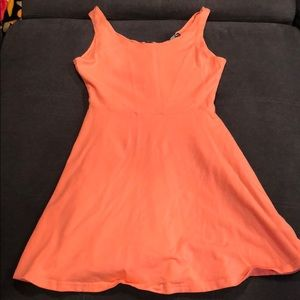 M coral skater dress from Express